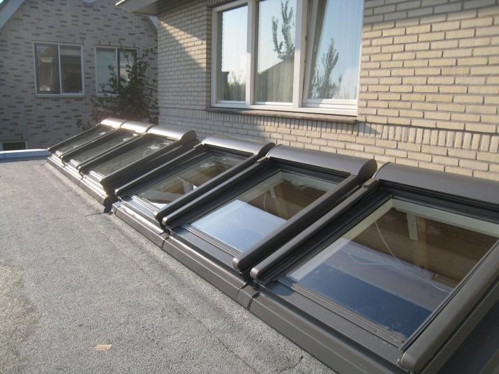 Lichtstraten lichtstraat lessenaar aannemersbedrijf gerard de bruijn - Veranda met dakraam ...