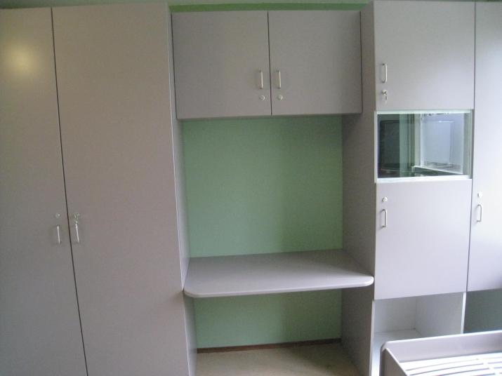 Slaapkamer Met Kasten : Slaapkamer interieur op maat gemaakt, een kast ...